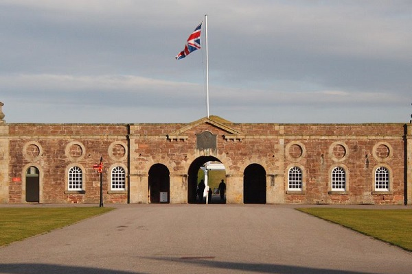 Historic Fort George in Nairn, Scotland, dating back to the 1700s. Located on the Moray Firth which is very popular for dolphin-spotting, this is definitely worth a stop on your motorhome holiday.