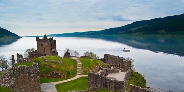 Urquhart Castle Loch Lomond Cruise Scotland