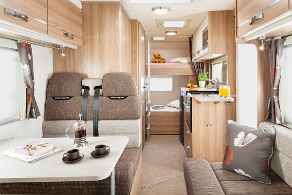 Your beautiful motorhome awaits your inspection!