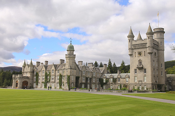 Balmoral Castle, summer residences of the British Royal Family