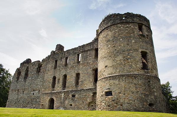 Balvenie Castle, open from April through to September