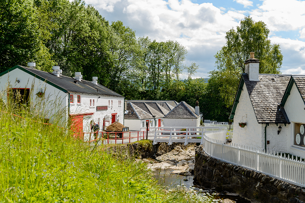 Based in Pitlochry, Perthshire, the Edradour distillery is claimed to be the smallest distillery in Scotland.