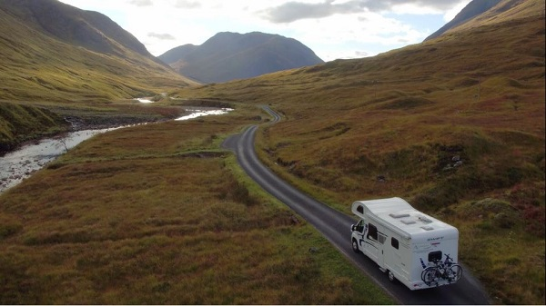 The Scottish Highlands and West Coast in particular features some wonderful winding single track roads – if you should come across any traffic, remember to use the frequent passing places
