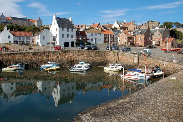 The East Nuek of Fife has numerous picturesque little fishing villages and harbours. Photo credit: James Stringer