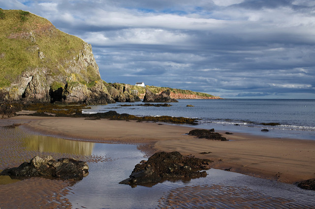 t Cyrus beach is 3 miles of beautiful views of sea, cliffs and sand dunes. Photo credit:Neil Williamson