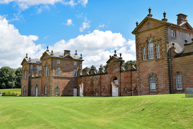 Chatelherault Country Park is centred on The Duke of Hamilton's 18th century hunting lodge. Photo credit: Harry McGregor