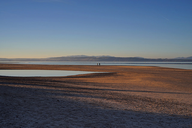 Nairn boasts a number of fabulous beaches of pure white sands stretching out for miles. Photo credit: Paul Oldham