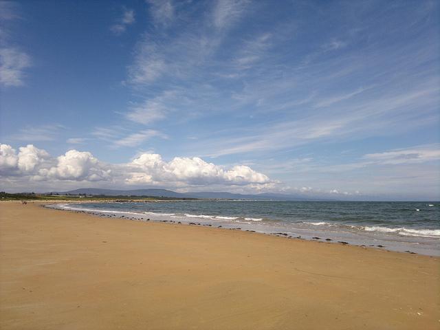 The area around Dornoch boasts miles of beautiful golden white sandy beaches. Photo credit: scorpion1985x