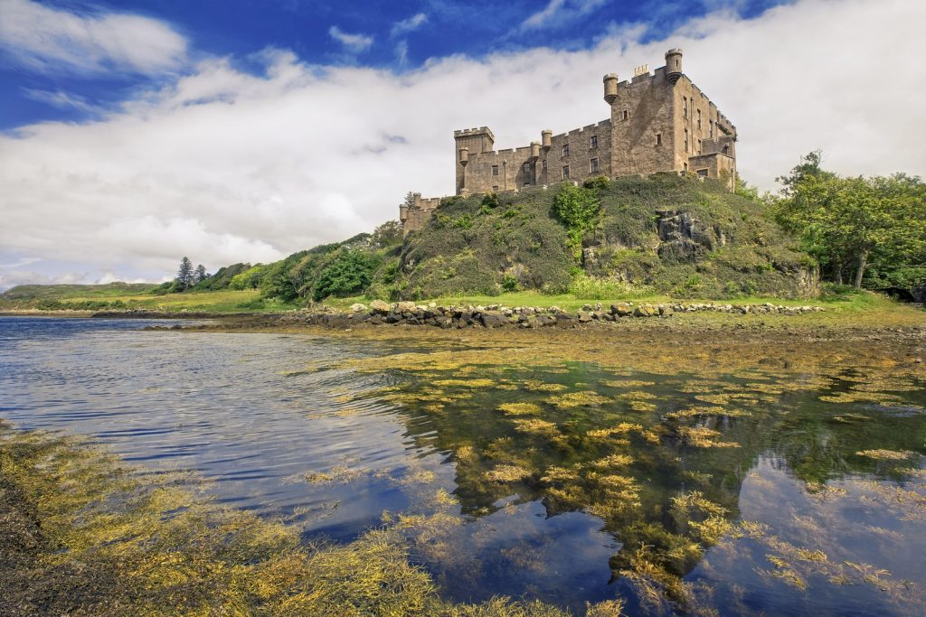 Dunvegan Castle, over in the West of the Isle of Skye