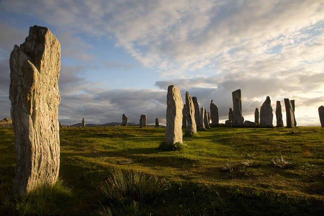 Callanish Standing Stones on the Isle of Lewis. Photo credit: G Macfayden