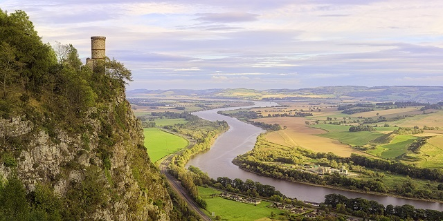 View from Kinnnoull Hill. Photo Credit: ShinyPhotoScotland