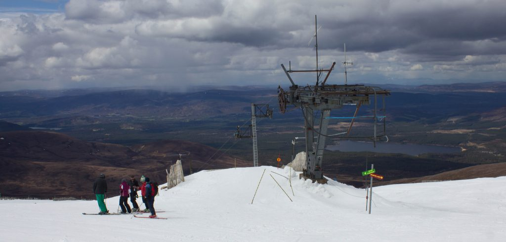 Cairngorms Ski Centre [credit - Chris Wood 1954]