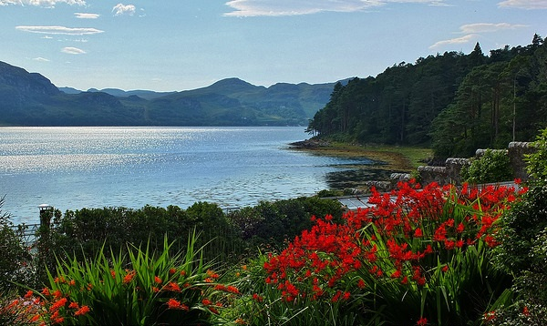 Inverewe Gardens, Scottish Highlands in Wester Ross [Credit: Clive on Flickr]