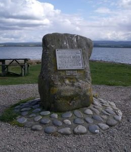 Brahan Seer Memorial Stone at Chanonry Point [credit; dave conner flickr]