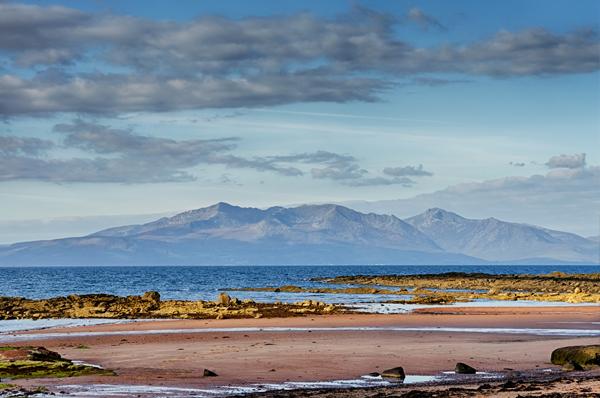 "The Isle of Arran; ""Scotland in miniature"""