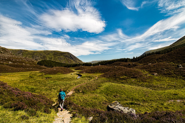 The Angus Walking Festival features a variety of guided walks to take you through some stunning Angus scenery. Photo credit: -AlFa-