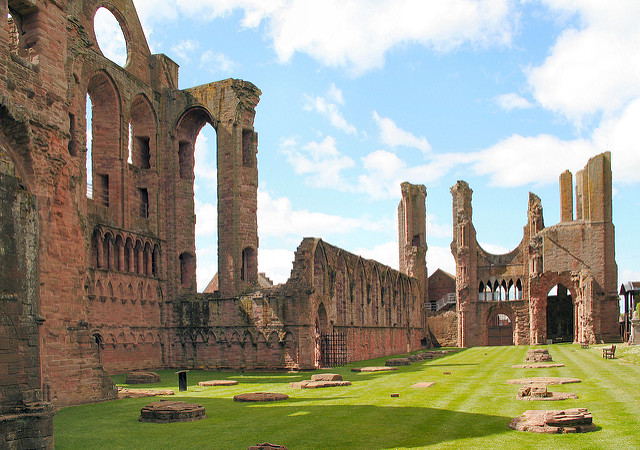 Arbroath Abbey, associated with the Declaration of Arbroath of 1320. Photo credit: alternateangle