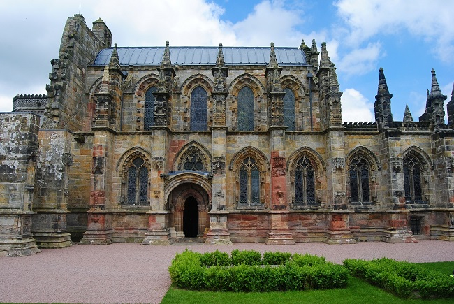 Rosslyn Chapel, founded in 1446, continues to hold services weekly. Visitors can explore the chapel, grounds, and visitor centre. Visit their website for full details on opening hours and prices.