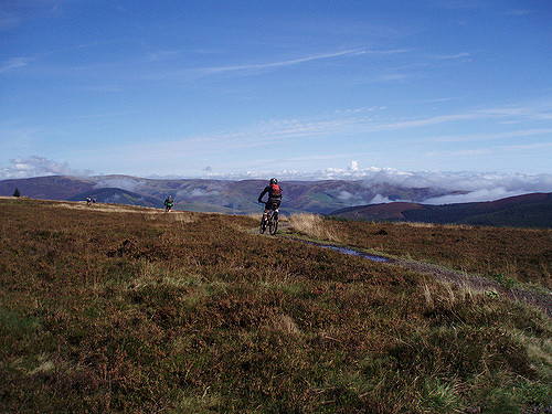 Mountain biking in the Tweed Valley, the perfect location for a short break full of adventure and history. Photo credit: aliweb_gt