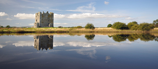 Threave Castle is situated on an island and can only be reached by boat. Photo credit: Paul Stevenson