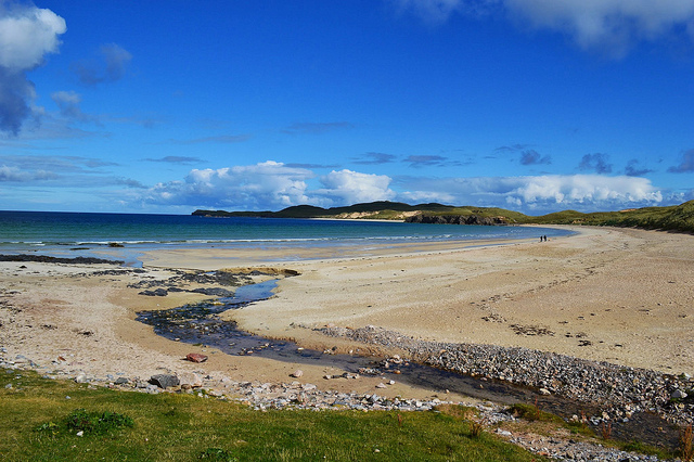 The north coast of Scotland has some of its finest beaches. They're a long drive away, but very much worth the journey. Photo credit: Dwilkinson
