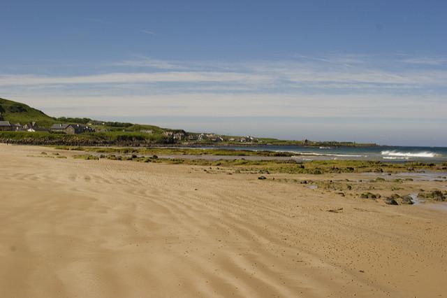 Machrihanish beach, Mull of Kintyre. Photo credit: Gary Henderson