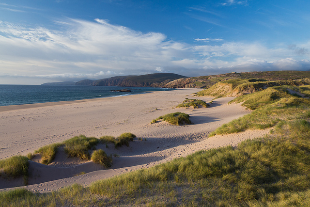 Britain's finest beach? You'll have to walk the four miles to Sandwood Bay to find out for yourself… Photo credit: Davide Bedin