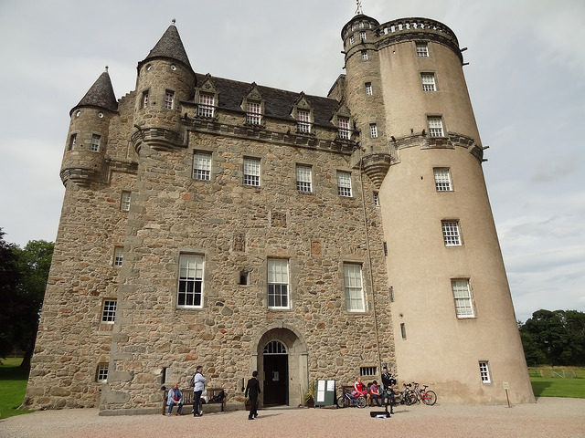 Castle Fraser is filled with family portraits and colourful personal histories. Garden and Grounds are open all year; the Castle is open for tours from 1st April to 31st October. Photo credit: Iain Cameron